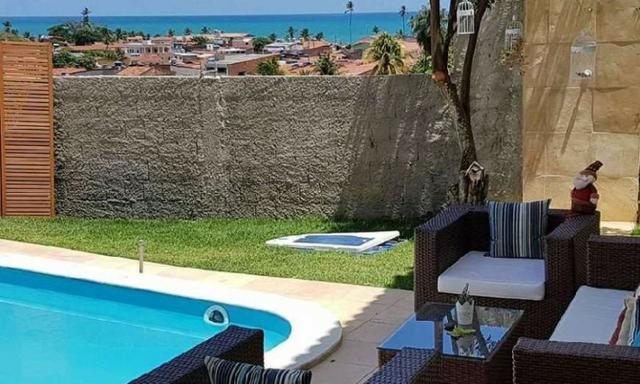 Siqueira Vende: Casa Mobiliada em Gaibu com 3 quartos com Piscina e Vista pro Mar - Foto 16