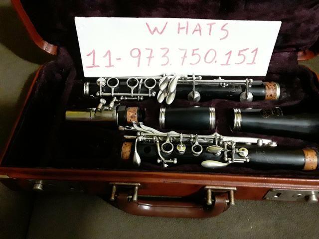 Clarinete Selmer De madeira nível profissional - Foto 3