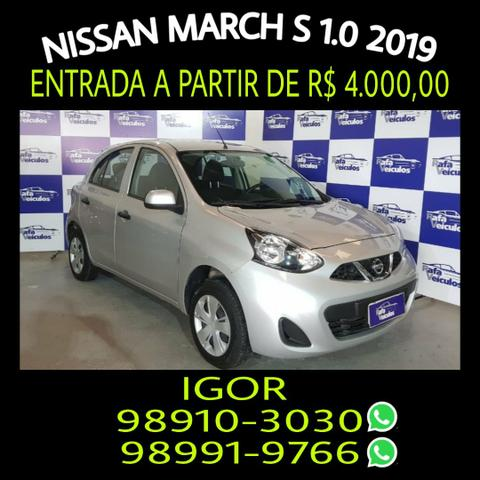 Mega oferta! March S 1.0 FLEX 2019, falar com Igor