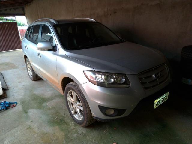 Santa fé 2012 carro em perfeito condições aceito proposta avista ou troco camionete