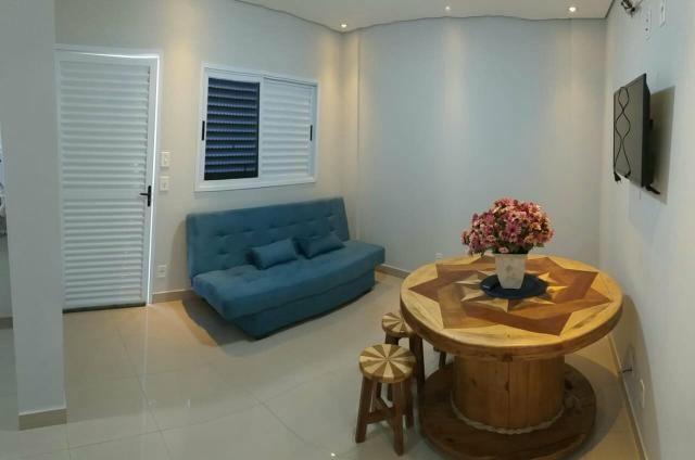 Apartamento mobiliado de TEMPORADA novinho bem localizado - Foto 11
