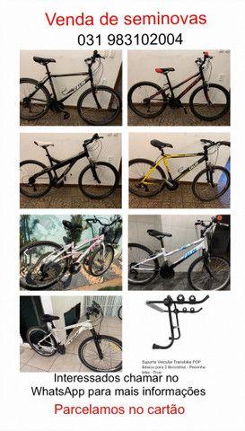 Suporte para bicicletas porta malas ,para reboque e para steep - Foto 6