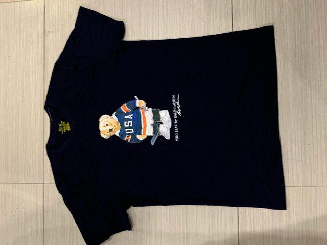 Polo Ralph Lauren t-shirt urso m g gg originais  - Foto 3