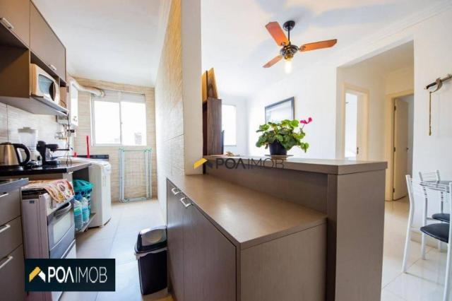 Apartamento com 2 dormitórios para alugar, 54 m² por R$ 1.800,00/mês - Protásio Alves - Po - Foto 10