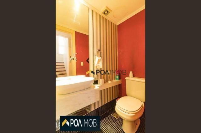 Casa com 3 dormitórios para alugar, 256 m² por R$ 3.000,00/mês - Vila Jardim - Porto Alegr - Foto 17