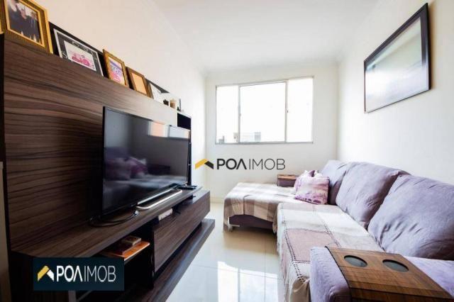 Apartamento com 2 dormitórios para alugar, 54 m² por R$ 1.800,00/mês - Protásio Alves - Po - Foto 4