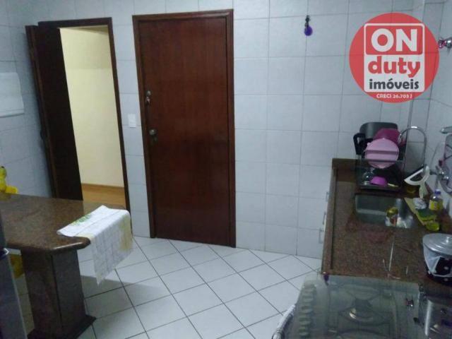 Apartamento com 3 dormitórios à venda, 90 m² por R$ 350.000,00 - Campo Grande - Santos/SP - Foto 8