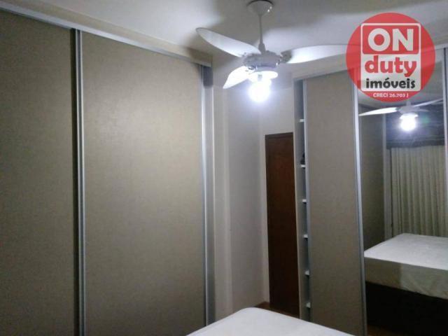 Apartamento com 3 dormitórios à venda, 90 m² por R$ 350.000,00 - Campo Grande - Santos/SP - Foto 7