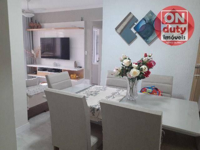 Apartamento com 2 dormitórios à venda, 67 m² por R$ 165.000,00 - Saboó - Santos/SP - Foto 3