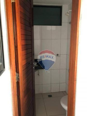 Apartamento com 3 dormitórios para alugar, 122 m² por R$ 2.400,00/mês - Manaíra - João Pes - Foto 12