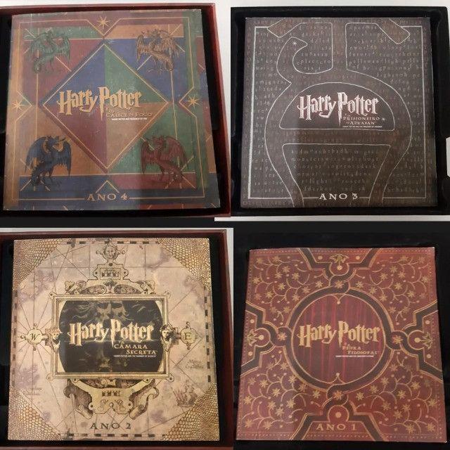 31 Discos (dvd+br) Coleção Harry Potter Wizard´s Collection