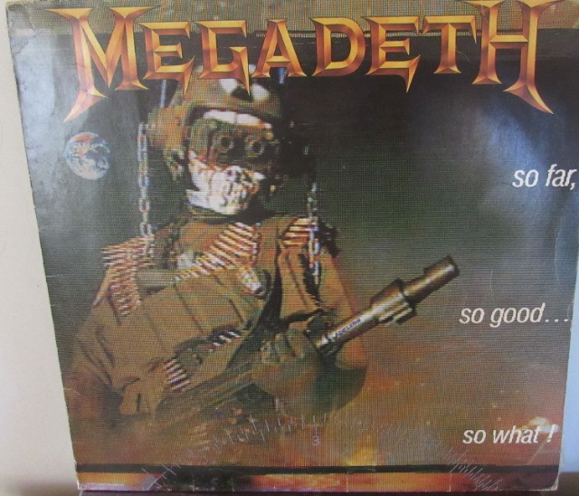 Lp - Megadeth - So Far So Good So What!!- Disco De Vinil 1visita