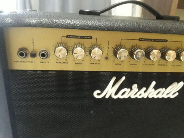 Amplificador de Guitarra Marshall G30R CD - Foto 5