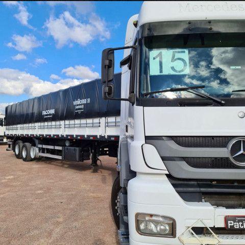 Caminhão Mb 2544 2015 6x2 + Carreta Facchini Graneleira 2020 - Foto 4
