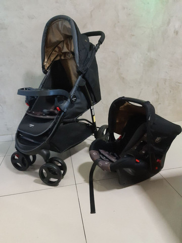 Kit carrinho + bebê conforto  - Foto 6