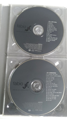 Kit CDs e DVD Fabio Júnior - Foto 4