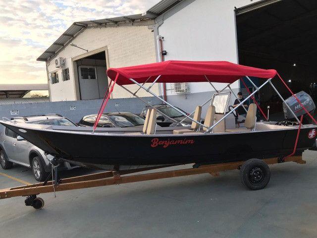 Barcos personalizados para pesca e passeio HF Boats - Foto 2