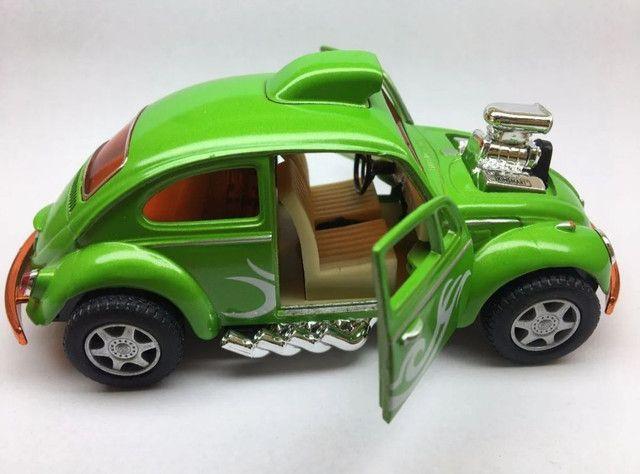 Miniatura Fusca Custom Dragracer Cores Variadas - Foto 2
