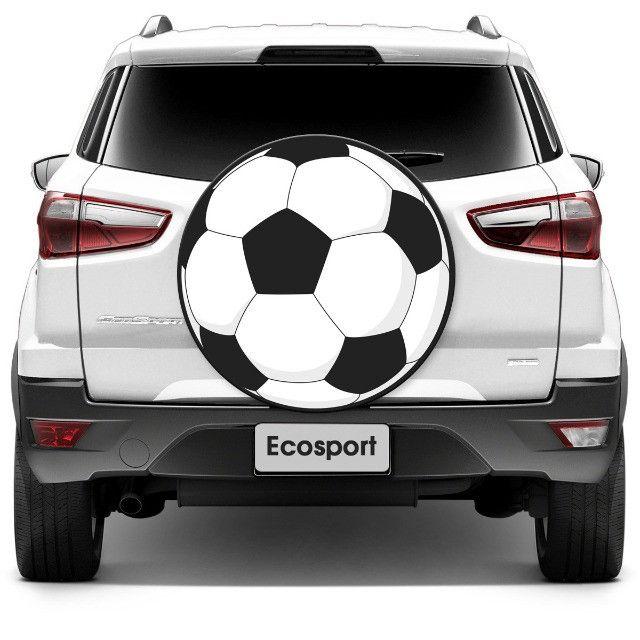 Capa Para Estepe - Bola De Futebol - Primeira Linha - Foto 2