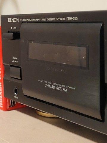 Tape Deck Denon DRM 740 - Foto 3