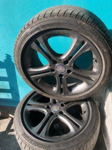 Jogo c 4 rodas p/ Mercedes A200 17, ano 2014+ pneu 225/45 17 - Foto 5