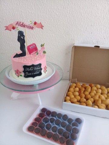 Kit festa Com torta personalizada a partir de 100 - Foto 2