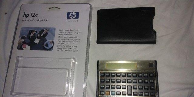 Calculadora Financeira HP 12C Gold - Foto 6