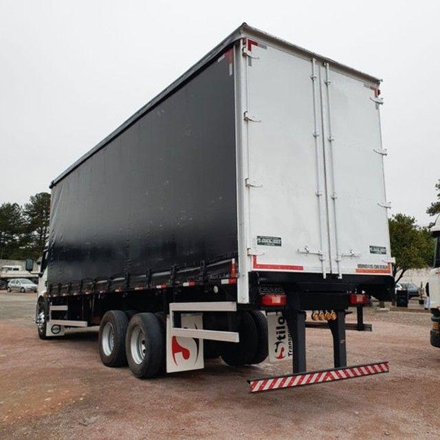 Caminhão Truck Volvo Vm260 6x2 Carroceria Sider 2011 Vm 260 #Com Sinal De R$23.000,00 - Foto 6