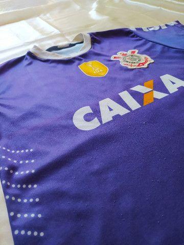 Camisa Corinthians Fifa - Infantil - Foto 3