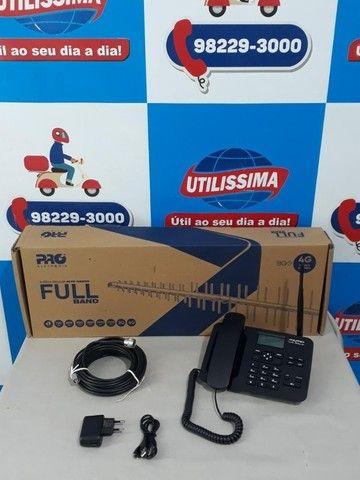 Kit Celular Rural Aquário Telefone + Cabo + Antena ? Entrega Gratis  - Foto 4