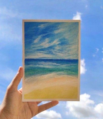 Desenhos realistas, artísticos ou arte com café  - Foto 4
