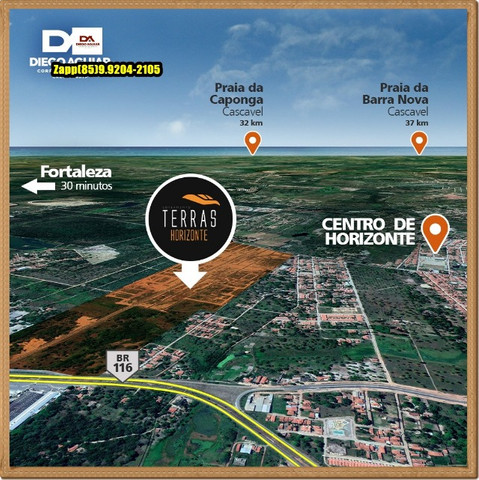 Loteamento Terras Horizonte -Ligue e agende sua visita!!! - Foto 10