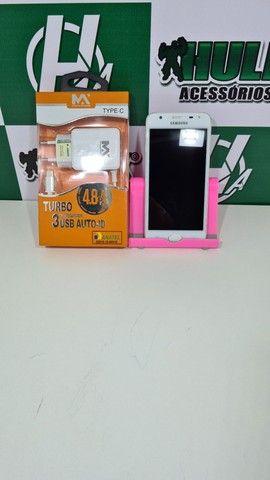 Celular Samsung J5 PRIME BRANCO 32GB  - Foto 2