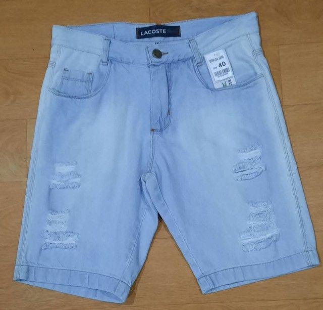 Bermuda Masculino Jeans - Foto 5