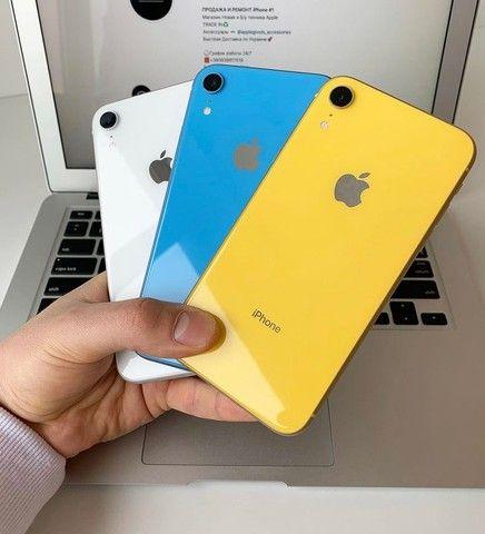 iPhone XR vitrine novo 12x237 promoção @rebiphone
