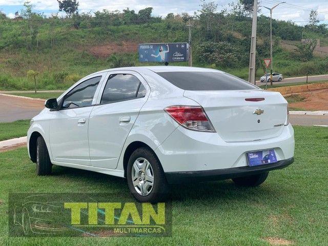 Prisma 1.0 JOY 2019. Ent. R$12.000 - Titan Multimarcas - Foto 3