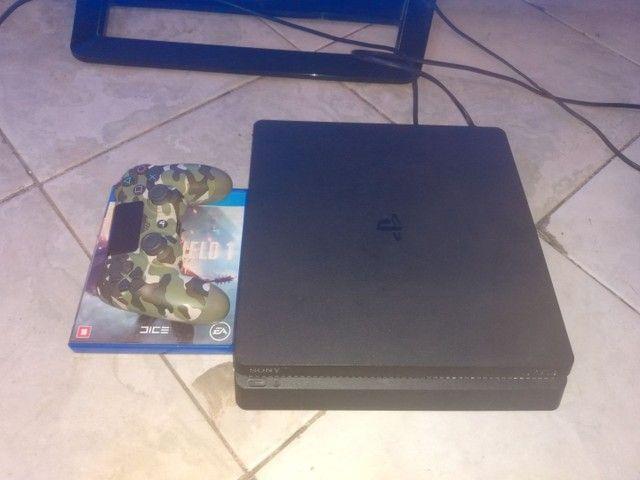 PS4 slim estado de zero - Foto 5