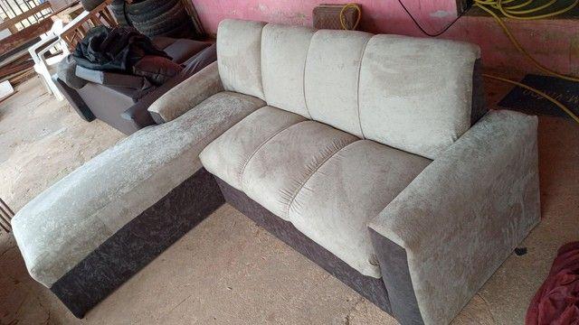 Vendo sofá e reformo  - Foto 3