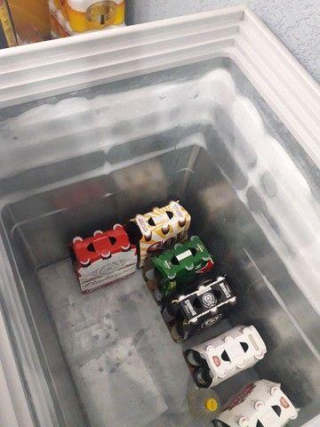 Freezer horizontal gelopar semi novo top - Foto 6