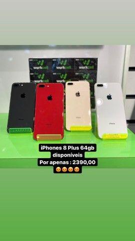 Iphone 8 Plus com preço bom é na Workcell , vem garantir o seu .   - Foto 2