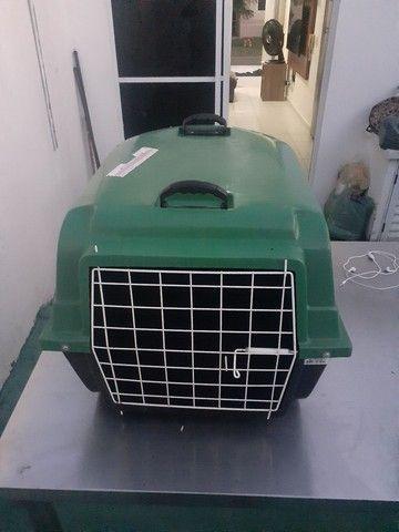 Caixa de transporte semi nova cachorro  - Foto 4