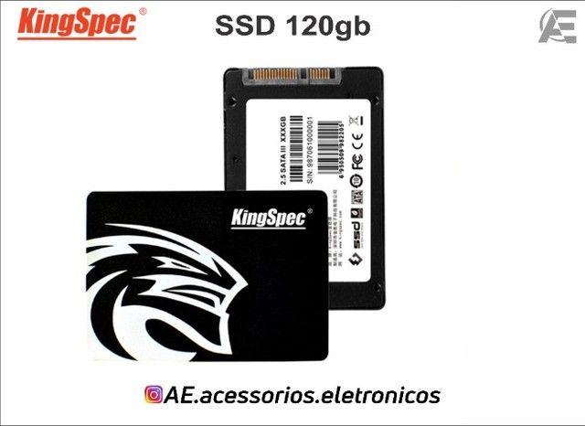 SSD 120gb kingspec - Entregamos e Aceitamos Cartões - Foto 3
