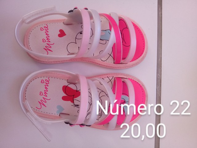 Sandálias infantil Seminovas - Foto 3