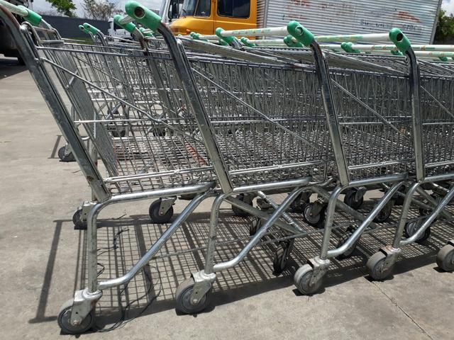 Carrinho de supermercado cesto e prancha - Foto 5