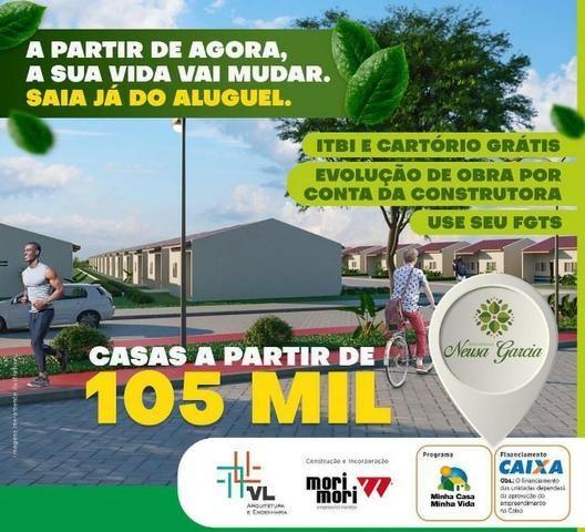 Casa com Sinal de 5 mil - Mensais a partir de 359 reais e descontos que chegam a 31 mil - Foto 5