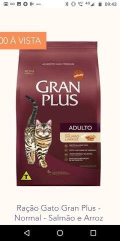 Ração granplus gato 10 kg premium especial ZAP - Foto 2