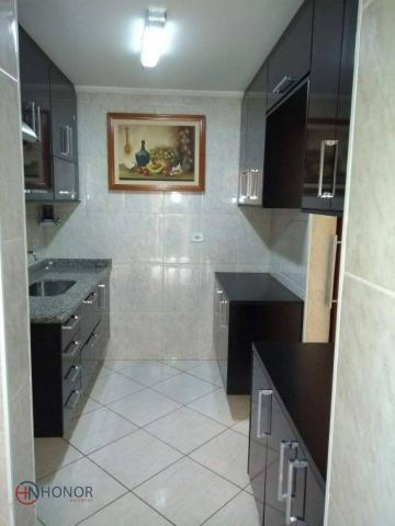 Apartamento com 3 dormitórios à venda, 90 m² por r$ 399.000 - parque das nações - santo an - Foto 2