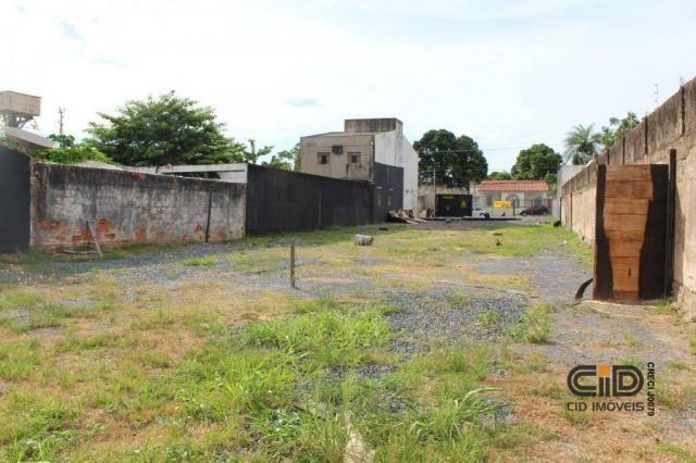 Terreno para alugar, 1025 m² por r$ 2.500,00/mês - porto - cuiabá/mt - Foto 5
