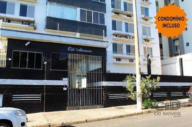 Apartamento com 3 dormitórios para alugar, 120 m² por r$ 1.900,00/mês - miguel sutil - cui