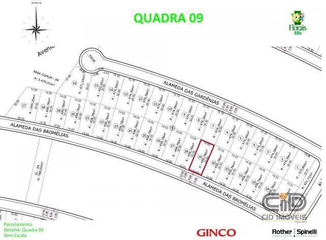 Terreno à venda, 456 m² por r$ 300.000 - jardim itália - cuiabá/mt - Foto 2